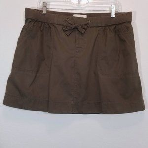 OLD NAVY Womens Brown Khaki Short Skirt